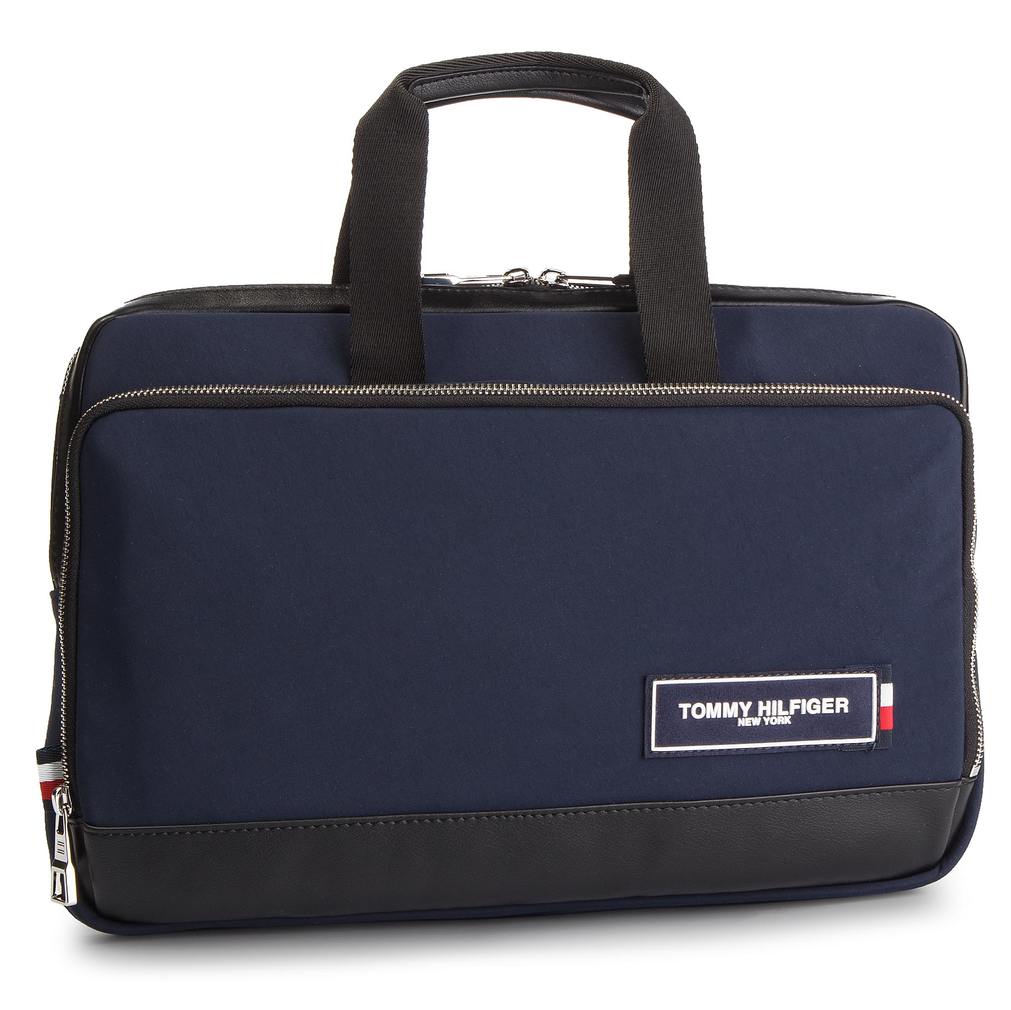 Laptoptáska TOMMY HILFIGER - Th Patch Slim Computer Bag AM0AM04344 ... b947351aa7