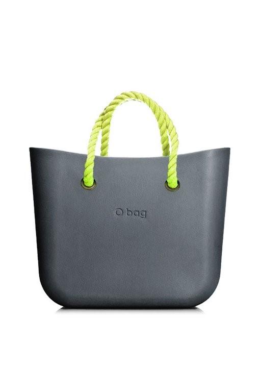 ... bag kabelka MINI Grafite s neonově žlutými krátkými provazy. -5%. O ... bc9af5e00a3