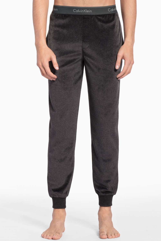 8872a08d5b ... Calvin Klein sivé pánske tepláky z mikroplyšu Jogger. -5% -30%