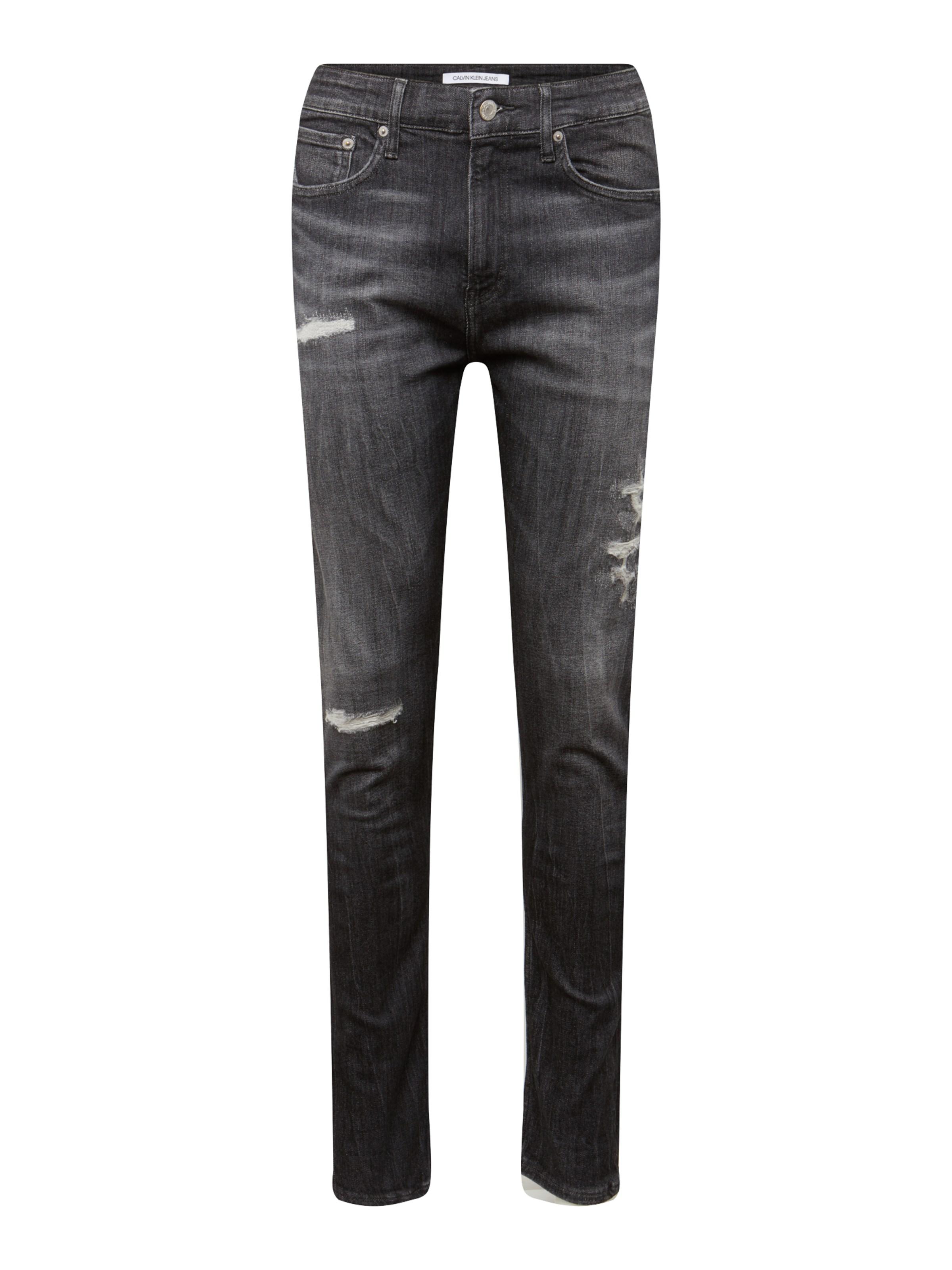 7cfb6fc9736b Calvin Klein Jeans Džíny  CKJ 016 SKINNY  šedá džínová - Glami.cz