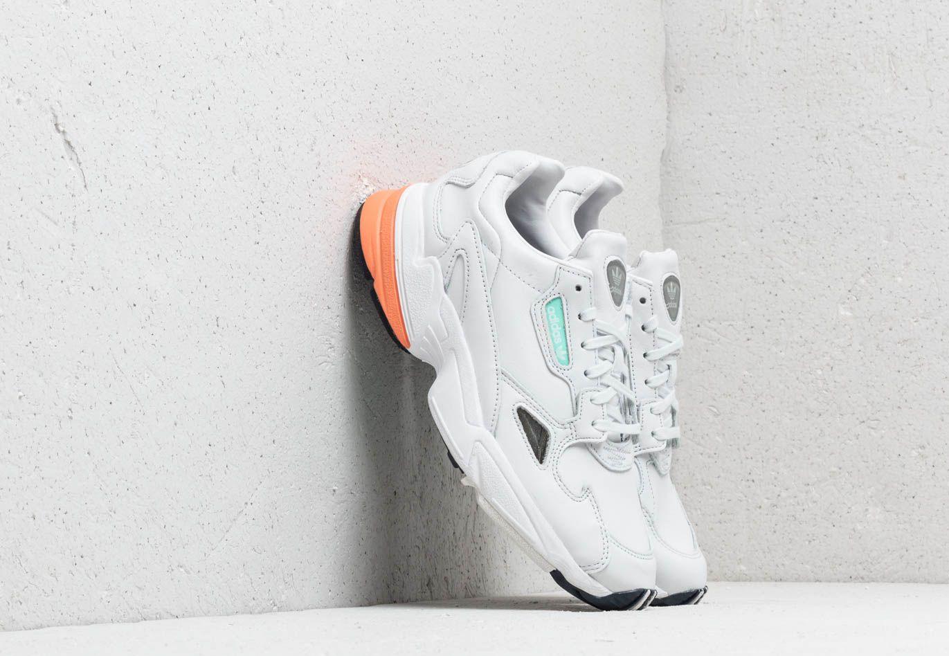 adidas Originals adidas Falcon W Crystal White  Crystal White  Easy Orange 5c7a2f4ee