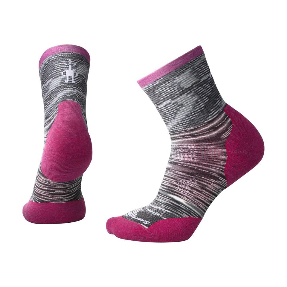 Ponožky bežecké dámské Smartwool W PHD RUN COLD WEATHER MID CREW meadow  mauve. Nové Ponožky bežecké dámské Smartwool ... 9bdf98bedb