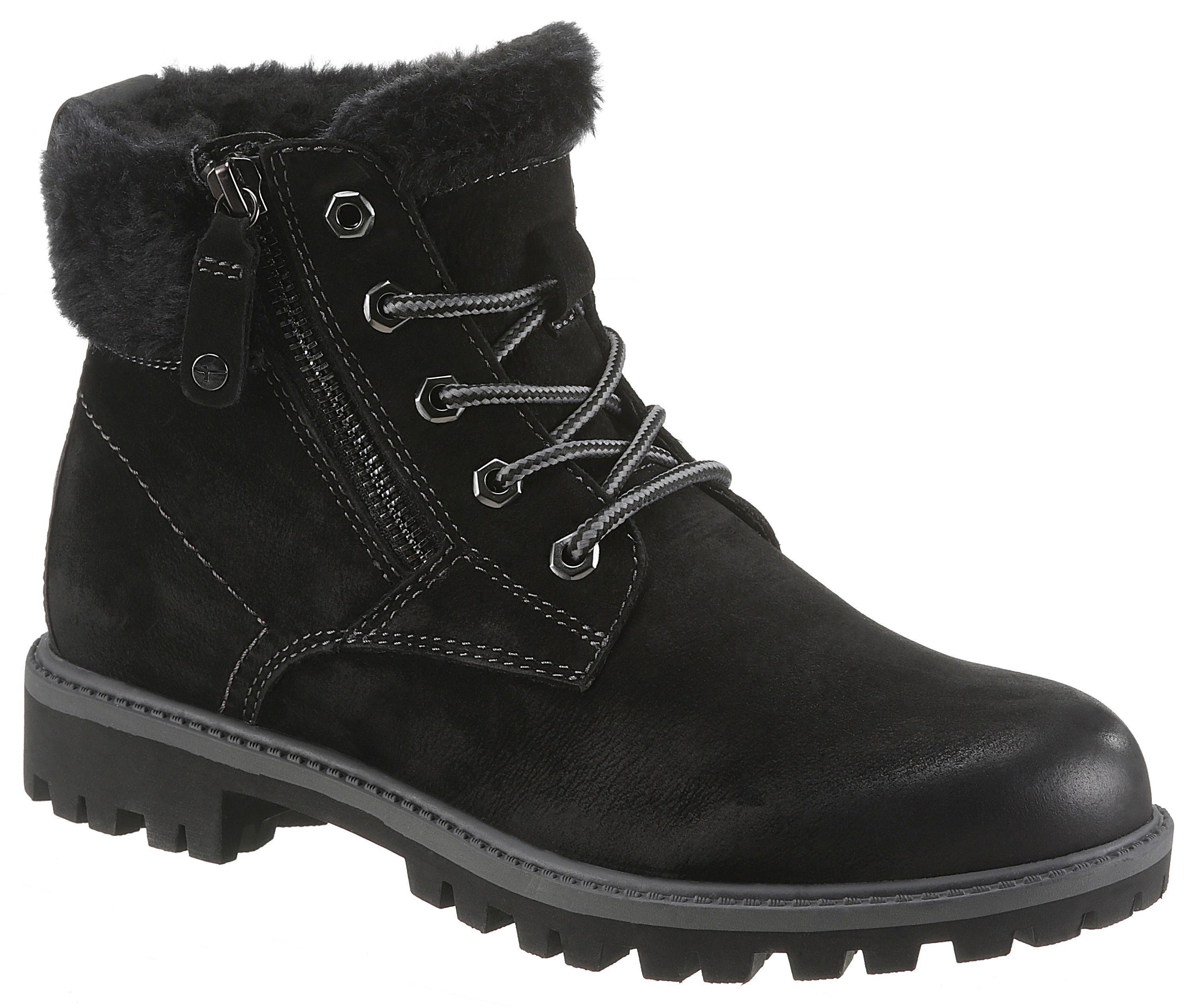 ... Tamaris Šnurovacie členkové topánky »Papaw« čierna. Nové Tamaris  Šnurovacie ... 5f82f3a91fa
