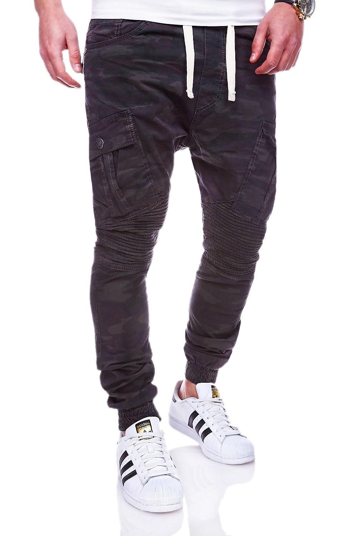 MyTrends Pánské maskáčové džíny Jogg-Jeans Chino RJ-2276 - Glami.cz 4fbb11f917