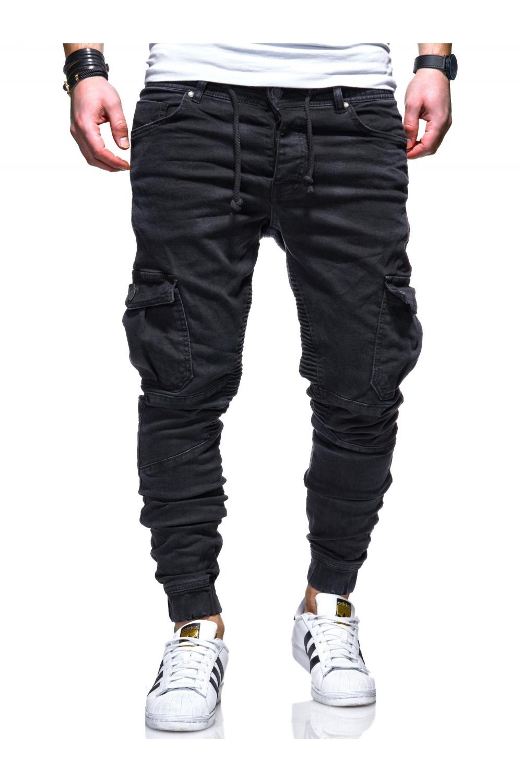 Behype Pánské džíny Jogg-Jeans Biker RJ-3207 - Glami.cz b13cbdba3c