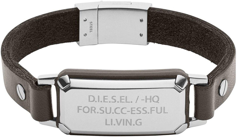 Pánský kožený náramek Diesel DX 1018 - Glami.sk 107429df700