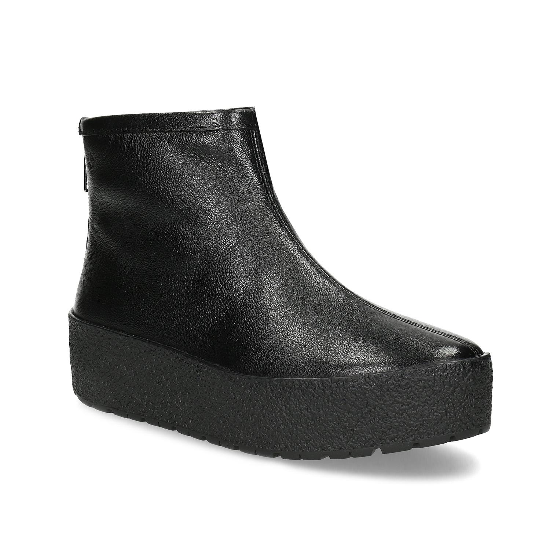 Vagabond Kotníčková obuv na flatformě zimní - Glami.cz aca4c9b6291