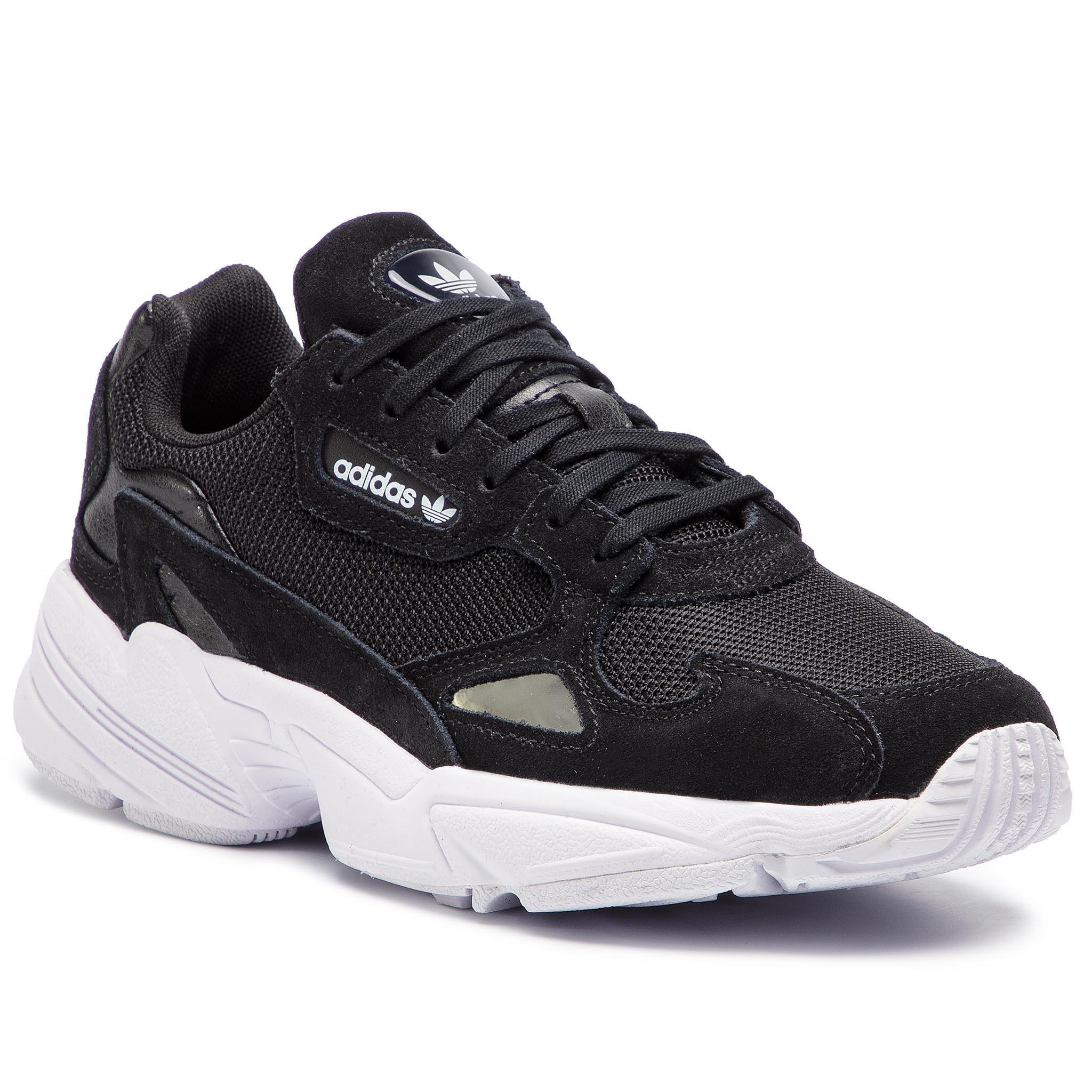 Cipő adidas - Falcon W B28129 Cblack Cblack Ftwwht - Glami.hu b371987dfc