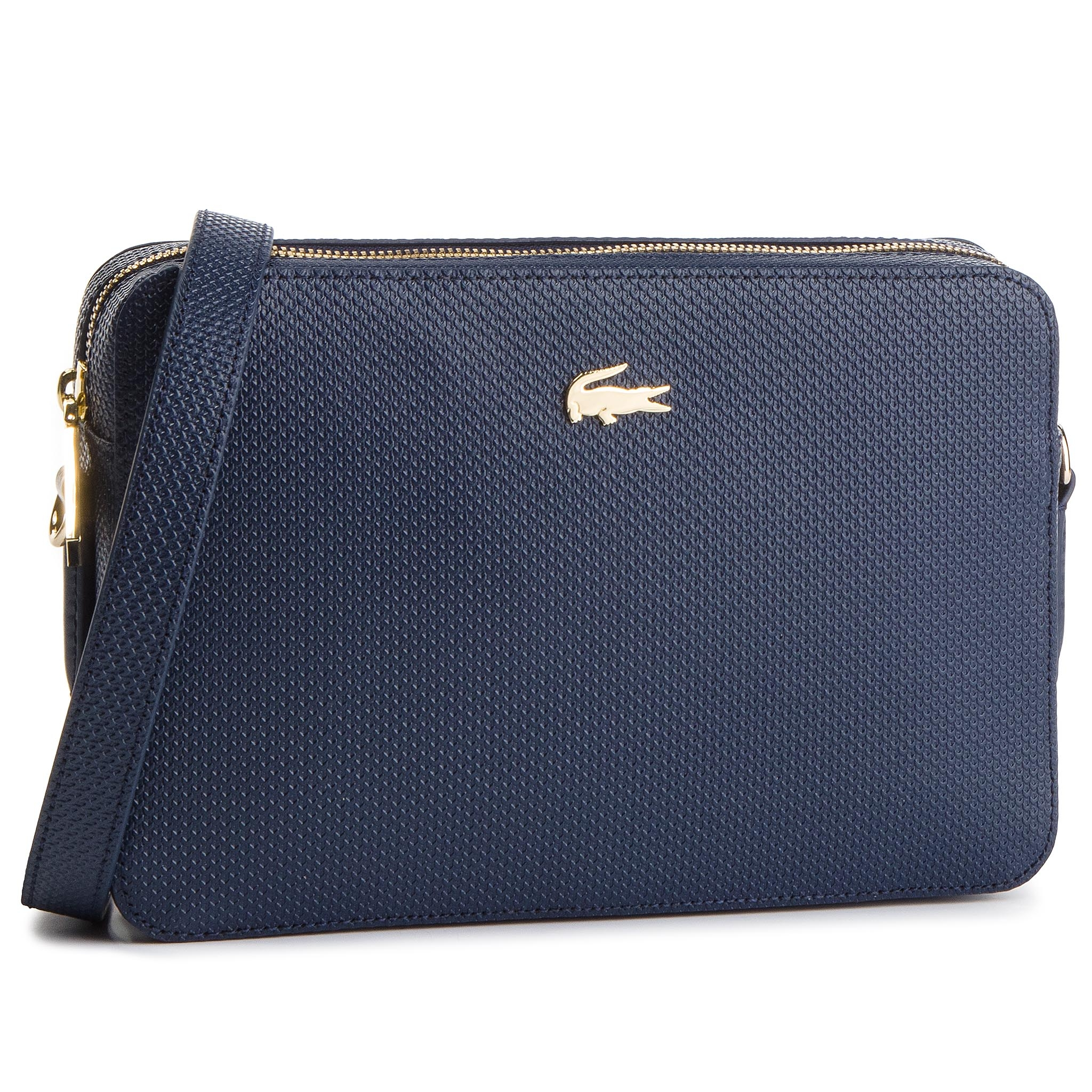 Kabelka LACOSTE - Square Crossover Bag NF2564CE Peacoat 021 - Glami.cz 631b3720320