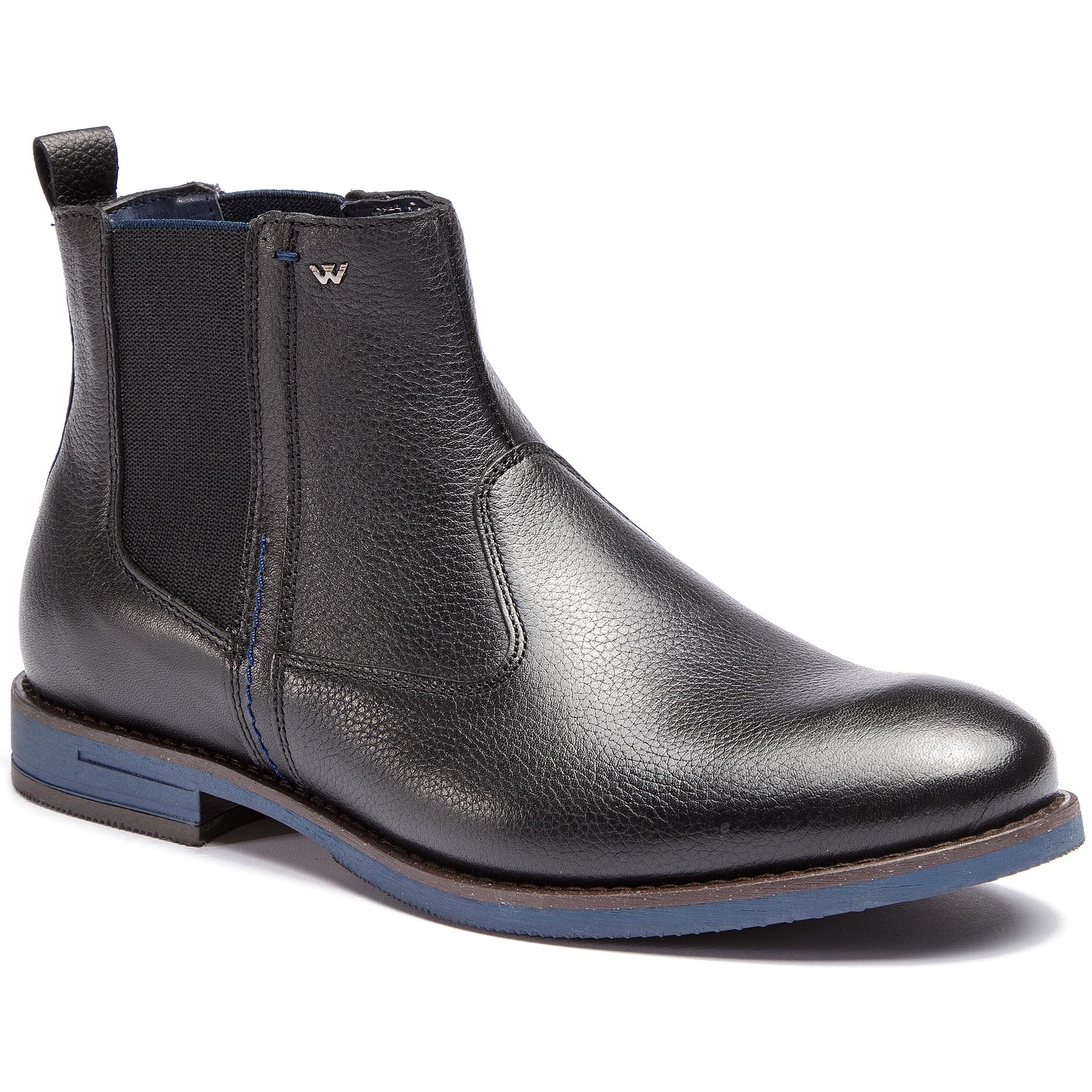 ... obuv s elastickým prvkom WOJAS - 8160-51 Čierna. -20%. Kotníková ... 6f338ac0c2