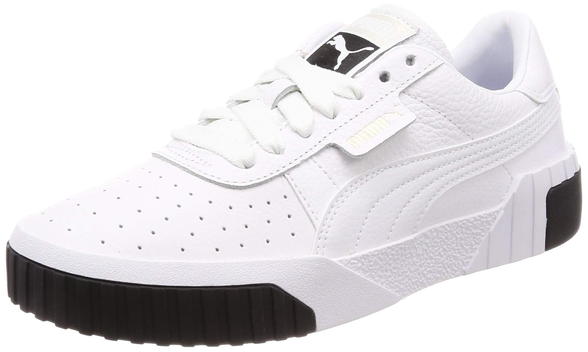 f5f78d51be Black Eu Blanc Puma Femme Cali 04 Wn's Basses Baskets 36 white nq0vwF