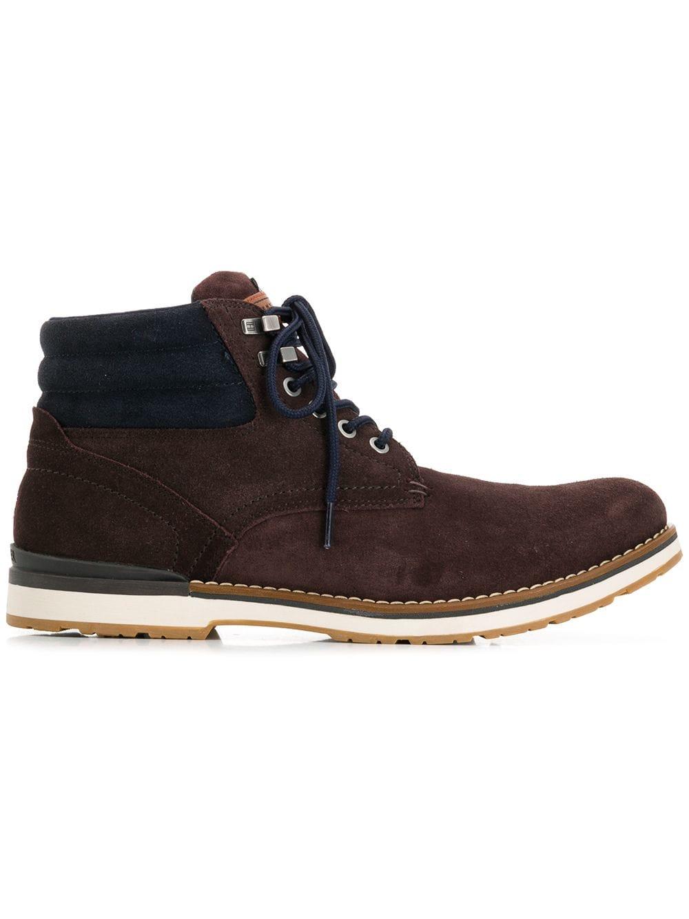 Tommy Hilfiger ankle boots - Brown - Glami.sk c4baddfb2bc