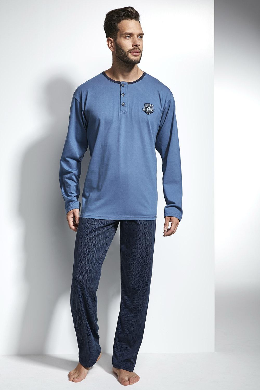 2d8c67ada52e Pánske pyžamo CORNETTE Authentic modrá - Glami.sk