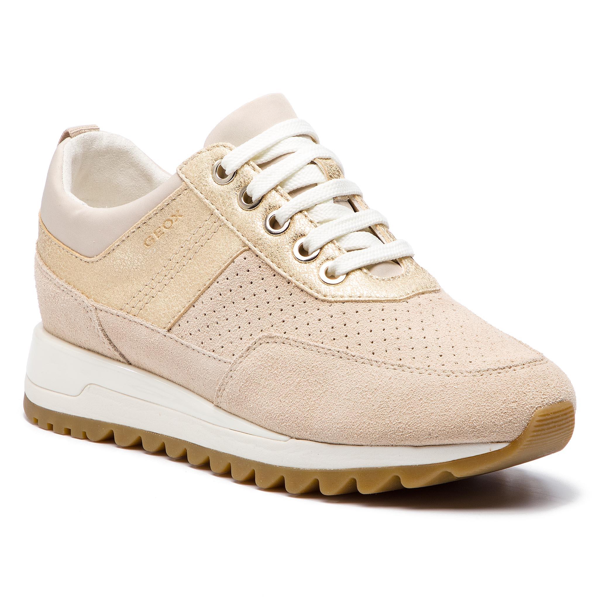 Sneakersy GEOX - D Tabelya B D84AQB 022BN C5K2L Cream Lt Gold - Glami.cz 5bf8c8b6c3