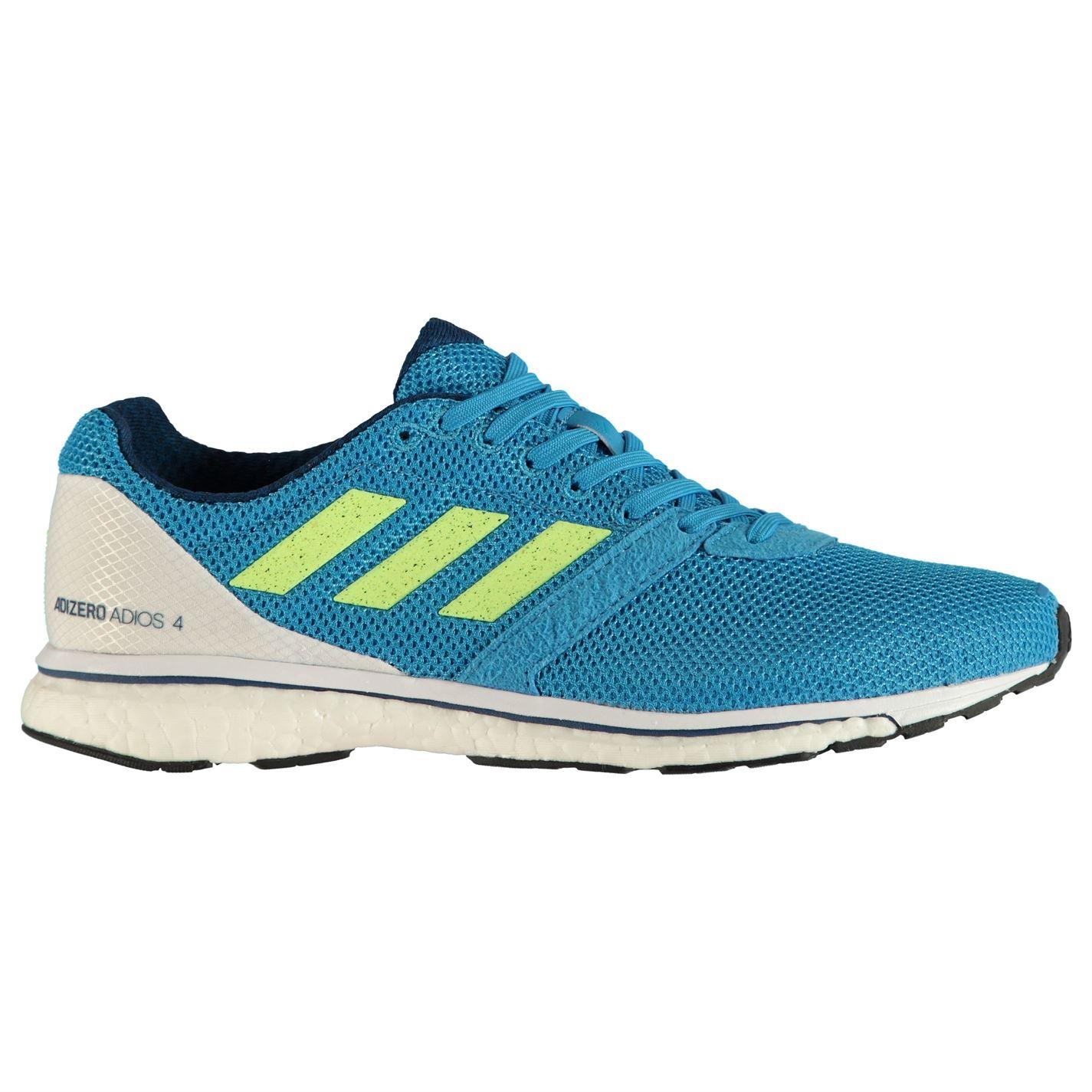 boty adidas adizero Adios pánské Running Shoes Blue Wht Grn - Glami.cz 5ed0875884