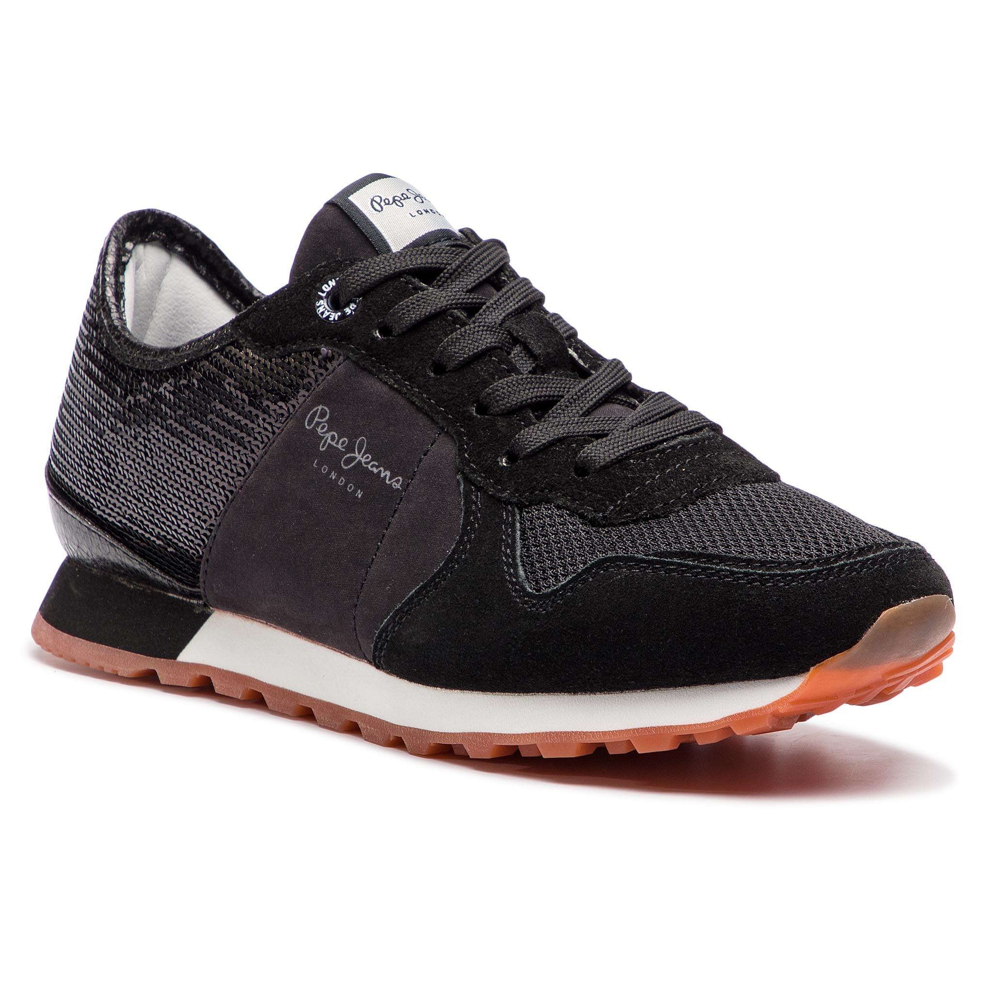 Sneakersy PEPE JEANS - Verona W New PLS30732 Black 999 - Glami.sk 389c4fba31