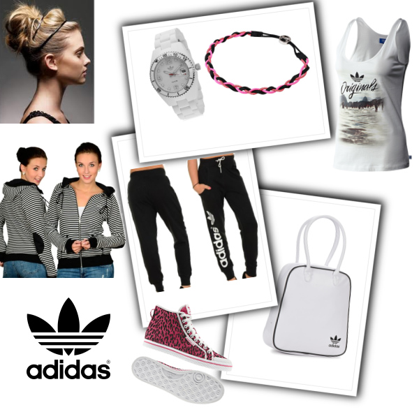 Sporty with Adidas