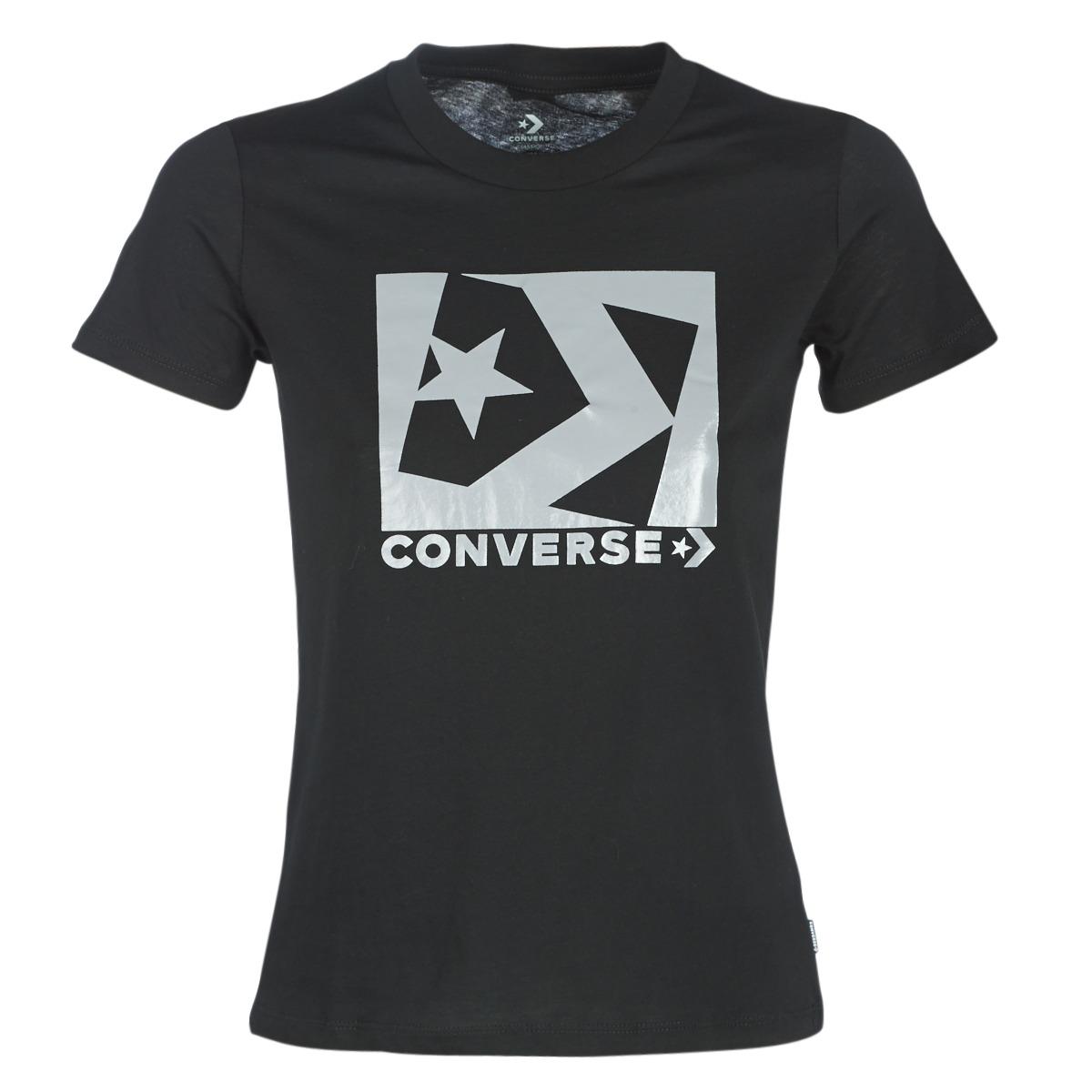 861e1861217 Converse Trička s krátkým rukávem BOX STAR CHEVRON TEE Converse ...