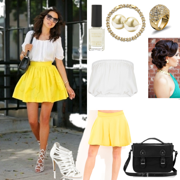 Žlutá+Bílá=:3