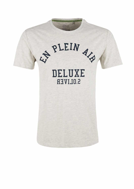 Oliver pánské triko s krátkým rukávem šedé. Nové s. 132fe5b972