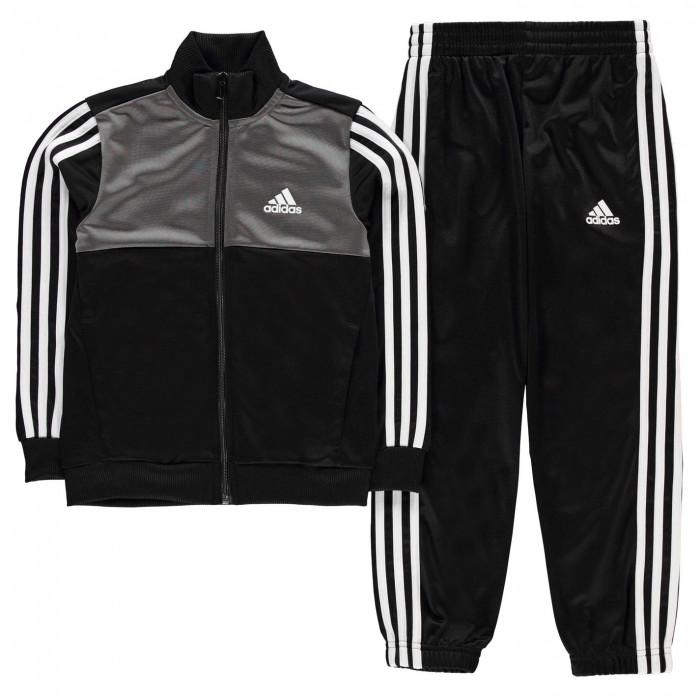 Adidas Tiberio Closed Hem Tracksuit Junior Boys - Glami.sk aa592f50ac9