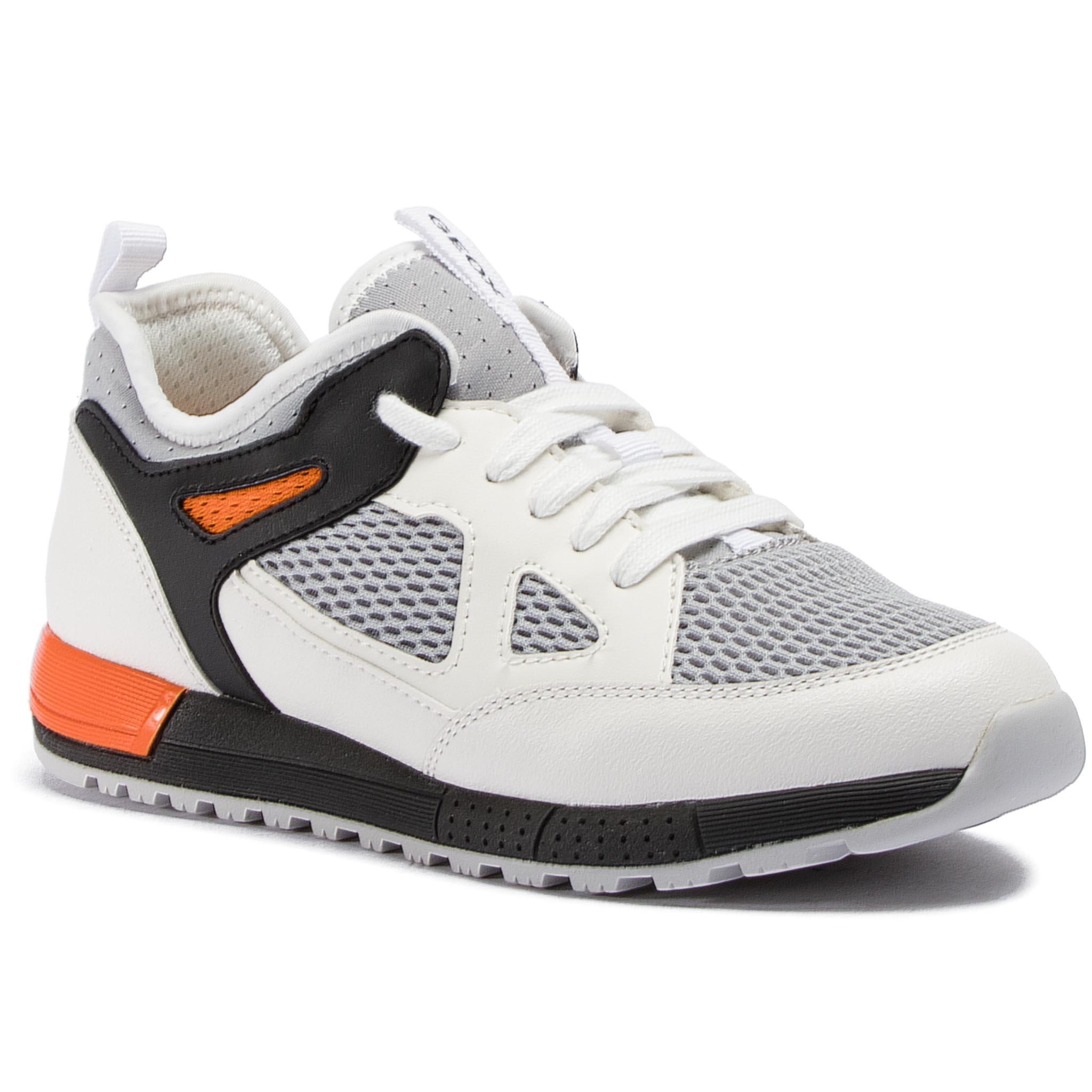 Sneakersy GEOX - J Alben B. D J929ED 014BU C0422 D White Orange ... 98d40bbe74
