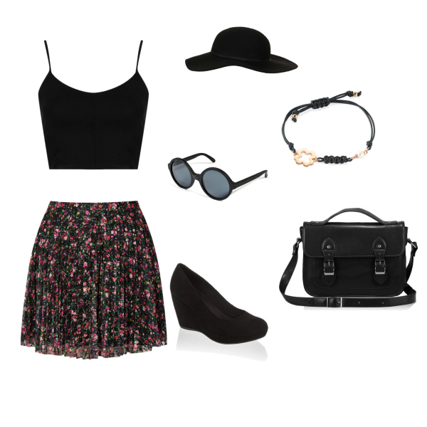 Summer wrapped in black