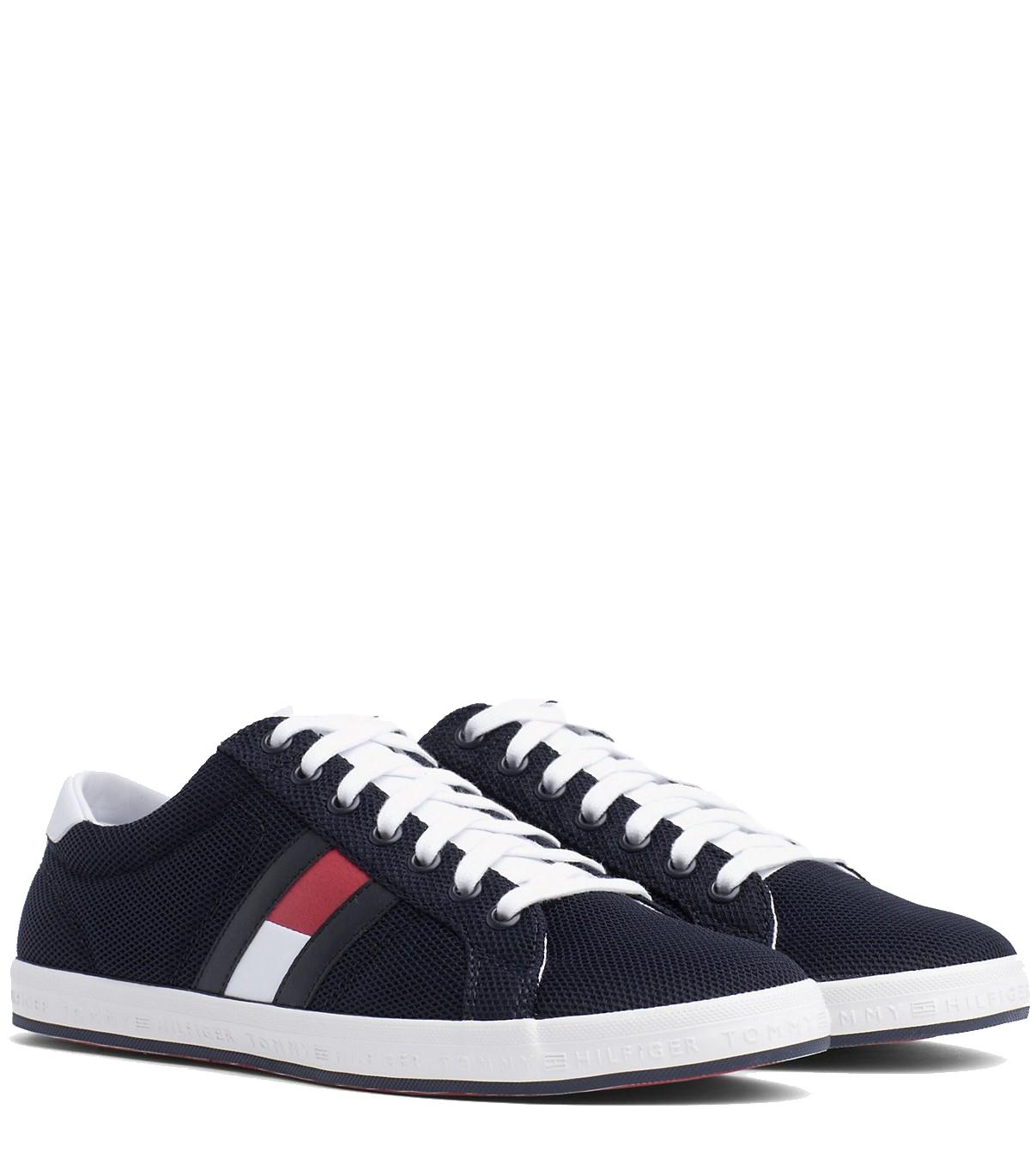 Tommy Hilfiger modré pánske tenisky Essential Flag Detail Sneaker Midnight. Tommy  Hilfiger modré ... 28b7397df7c