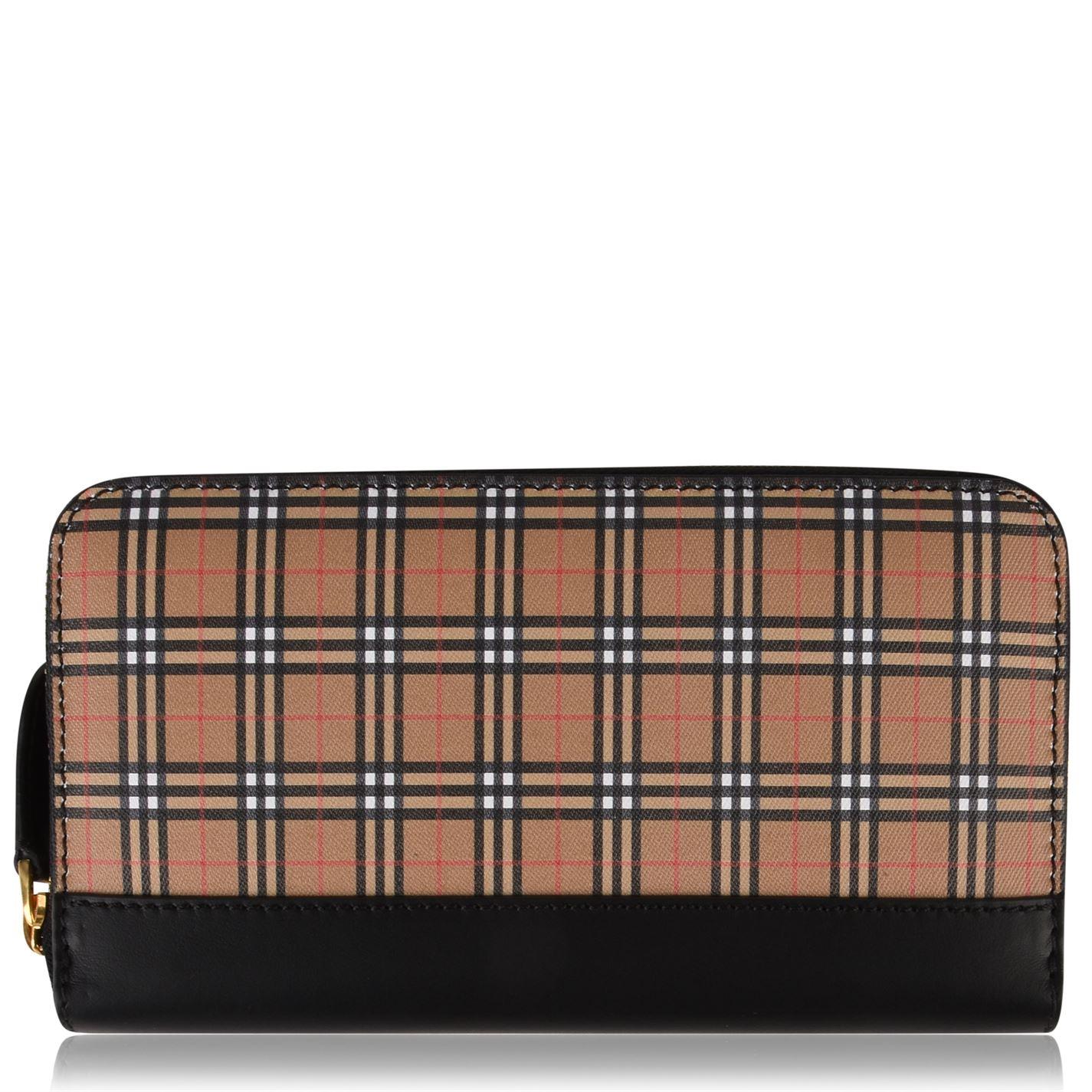 Peňaženka Burberry Check Zip Purse - Glami.sk 463dabe07c6