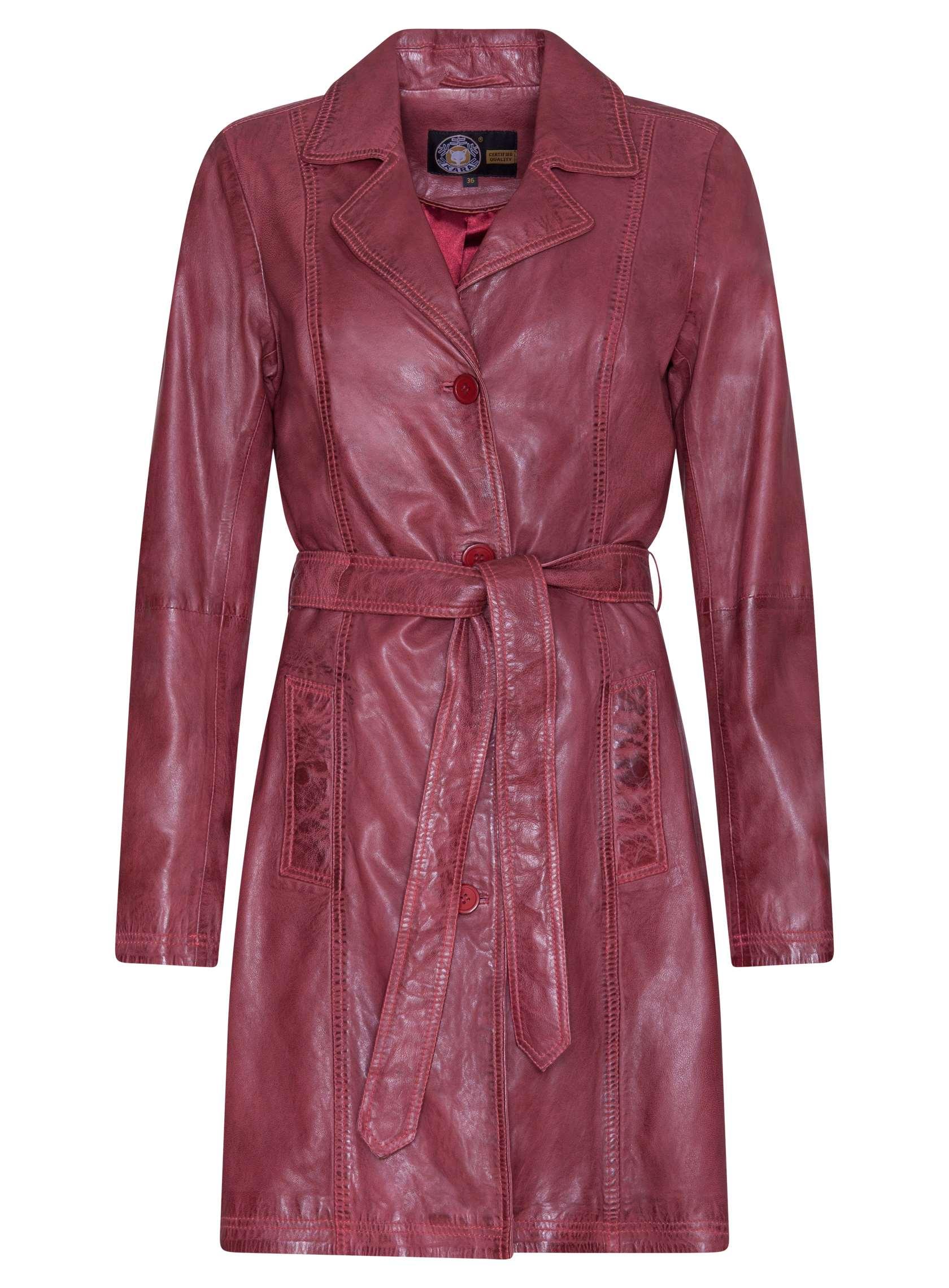 Dámska kožená bunda Sarah (72742336) Kara - Glami.sk 2189b8af1cb