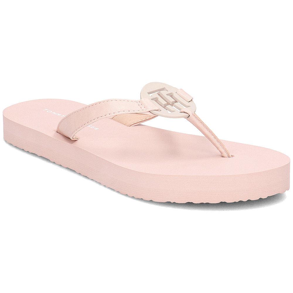Tommy Hilfiger dámské růžové žabky Playful - Glami.cz 184d460d629
