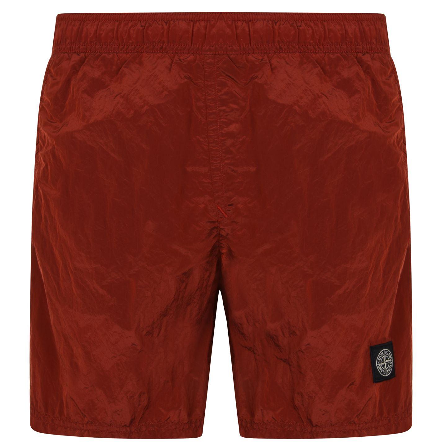 b1f359a0f STONE ISLAND Metallic Swim Shorts