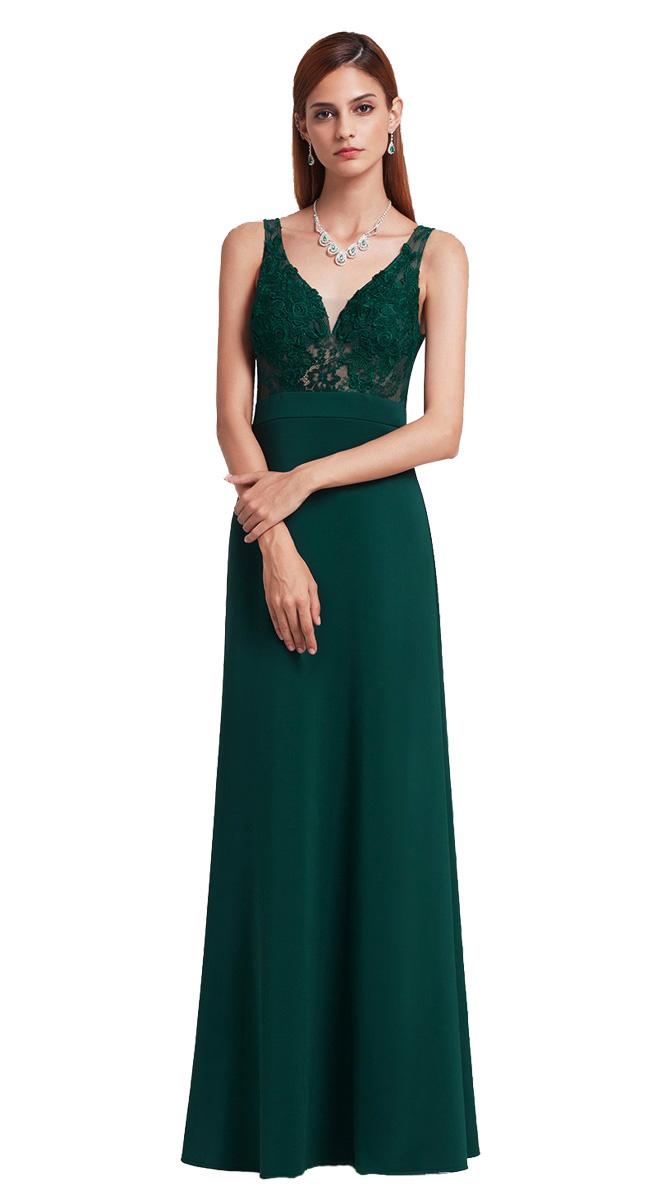 191c6aad1b72 Zelené plesové šaty Ever Pretty - Glami.cz