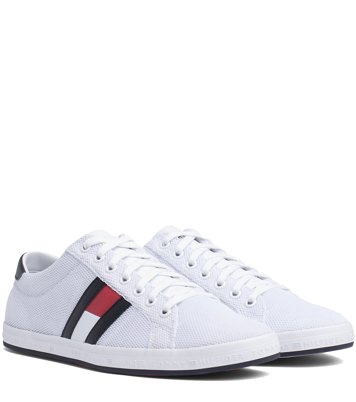 f4860ca37e Tommy Hilfiger fehér férfi tornacipő Essential Flag Detail Sneaker ...