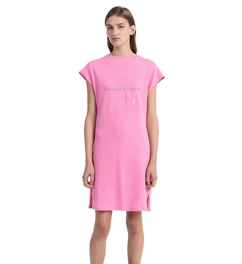 34800ebc0668 Calvin Klein dámske ružové šaty Doon - Glami.sk