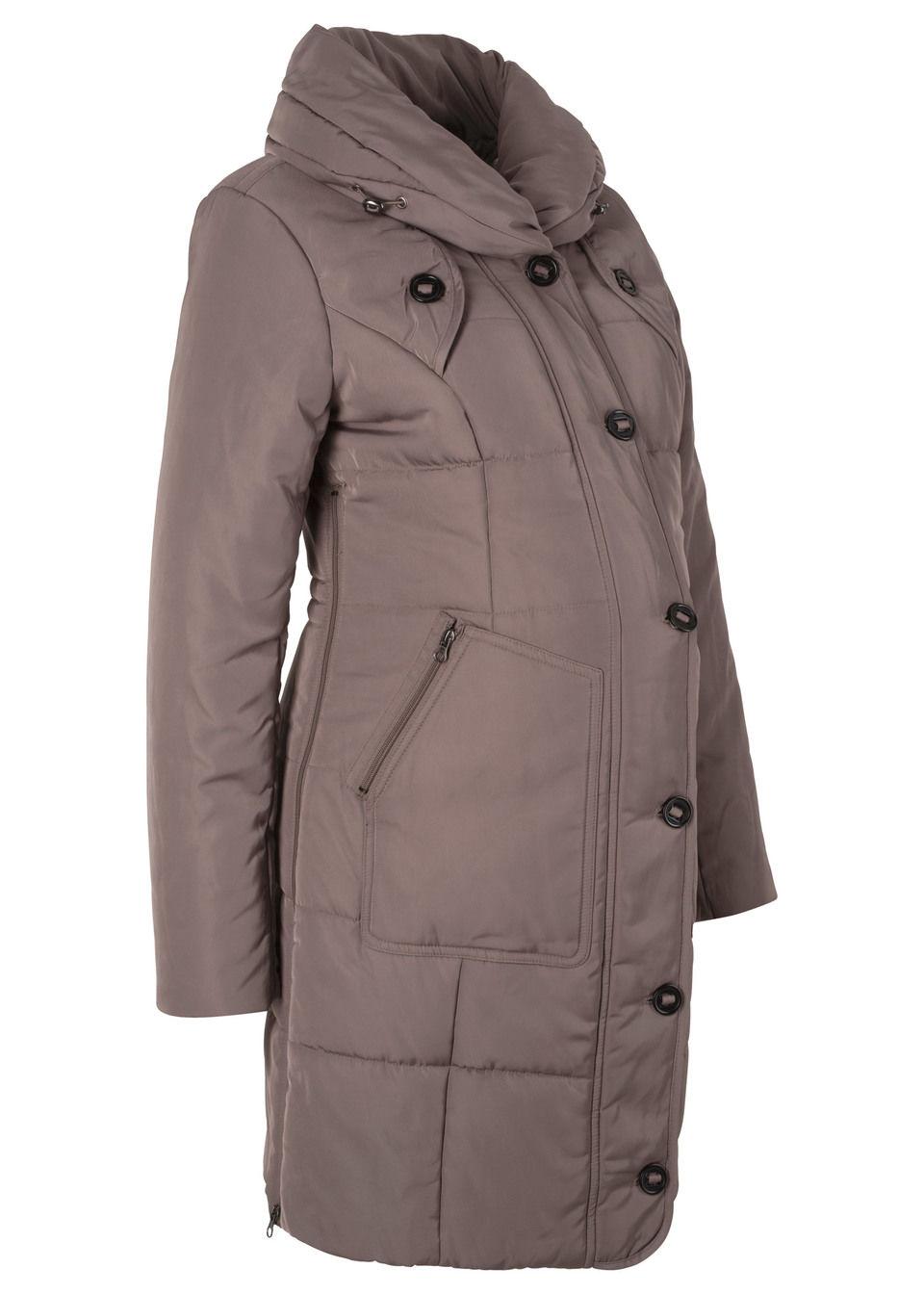 Bonprix Tehotenská móda prešívaný krátky kabát - Glami.sk 1f46bc73ae2