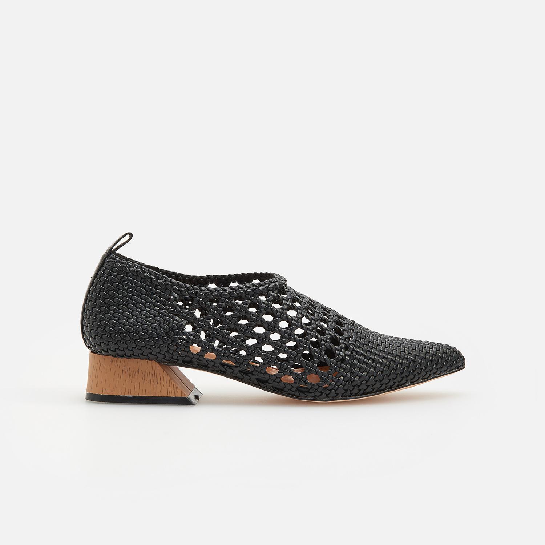 čierne Teen topánočky