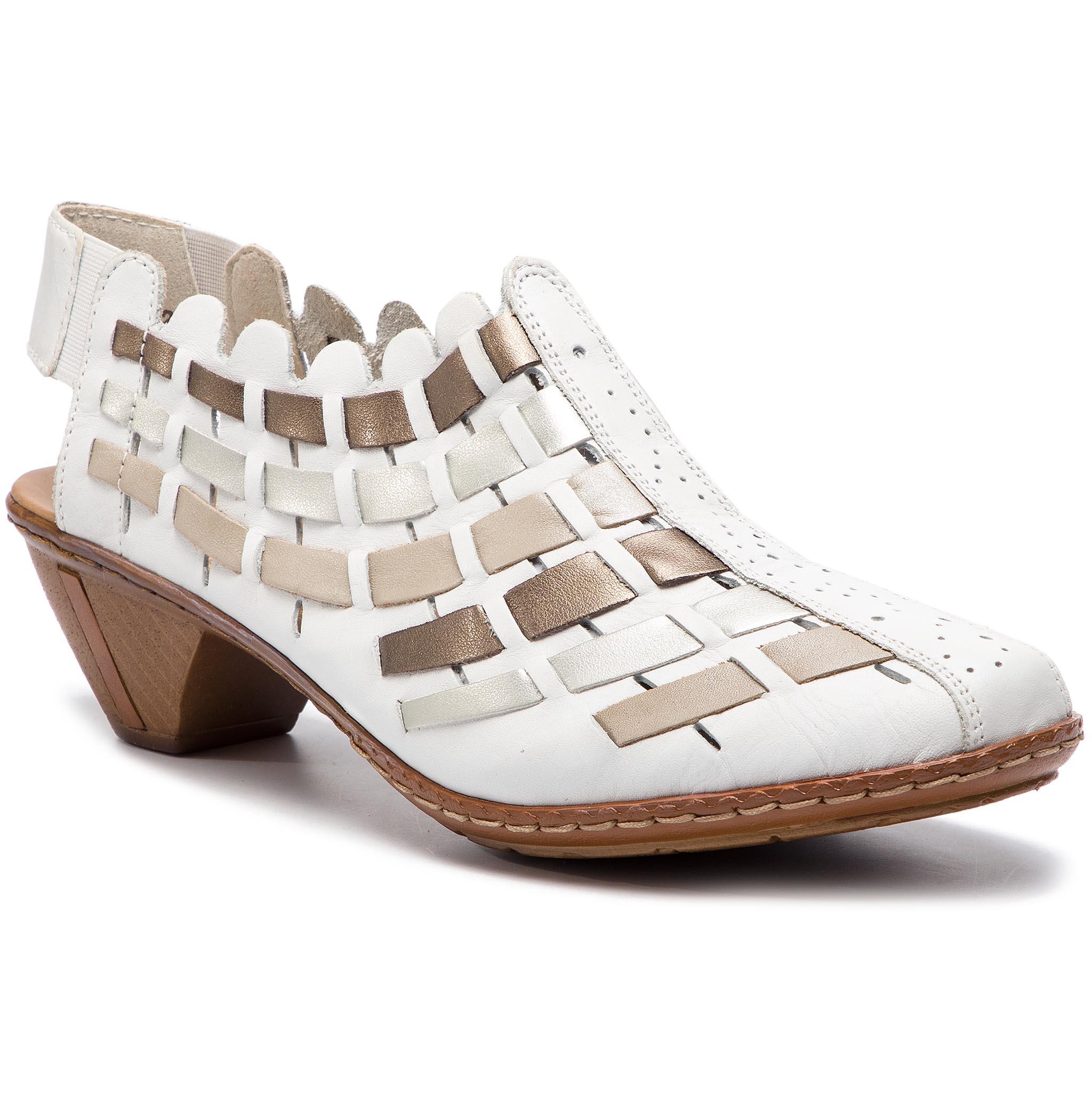 Sandále RIEKER - 46778-81 Weiss Kombi - Glami.sk 7d5fe6cda0