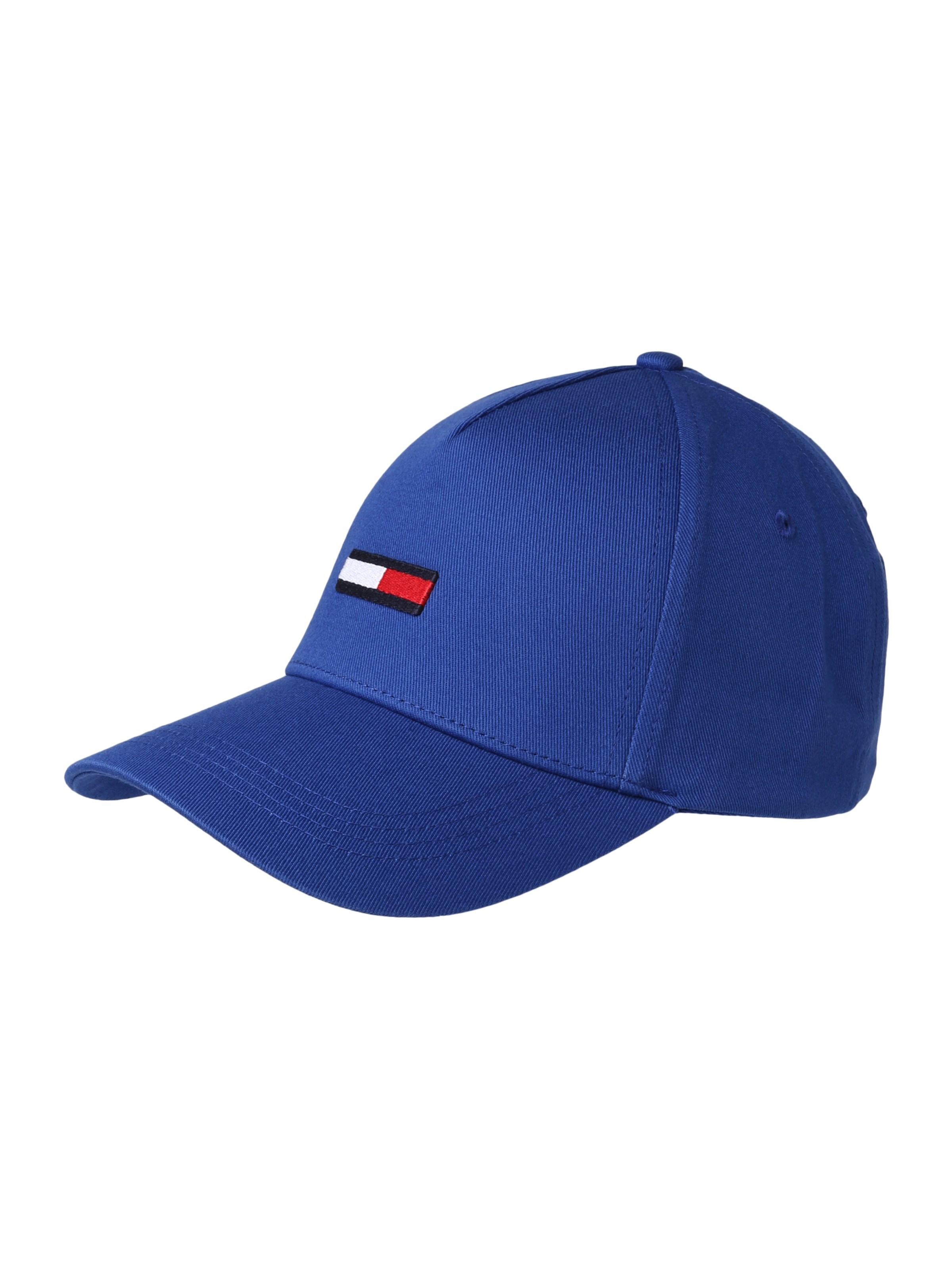 TOMMY HILFIGER Kšiltovka  TJU FLAG CAP  modrá - Glami.cz 46f6a2f016
