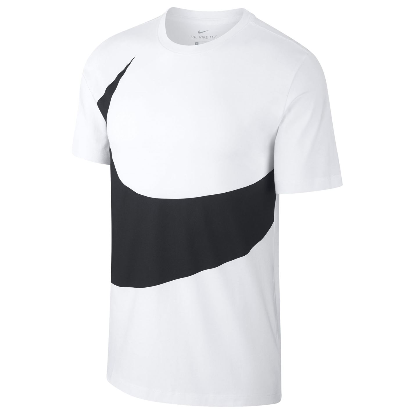 626185f029f27 Triko Nike HBR Swoosh T Shirt pánské White/Black - Glami.sk