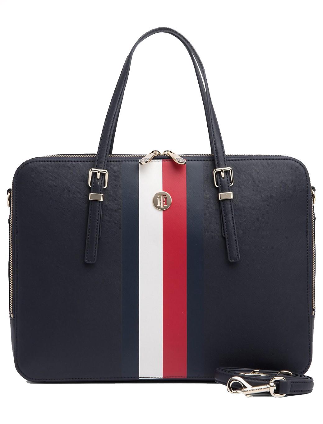37af689401 Tommy Hilfiger modrá taška na notebook Honey Computer Bag Corporate. Tommy  Hilfiger modrá taška na notebook ...