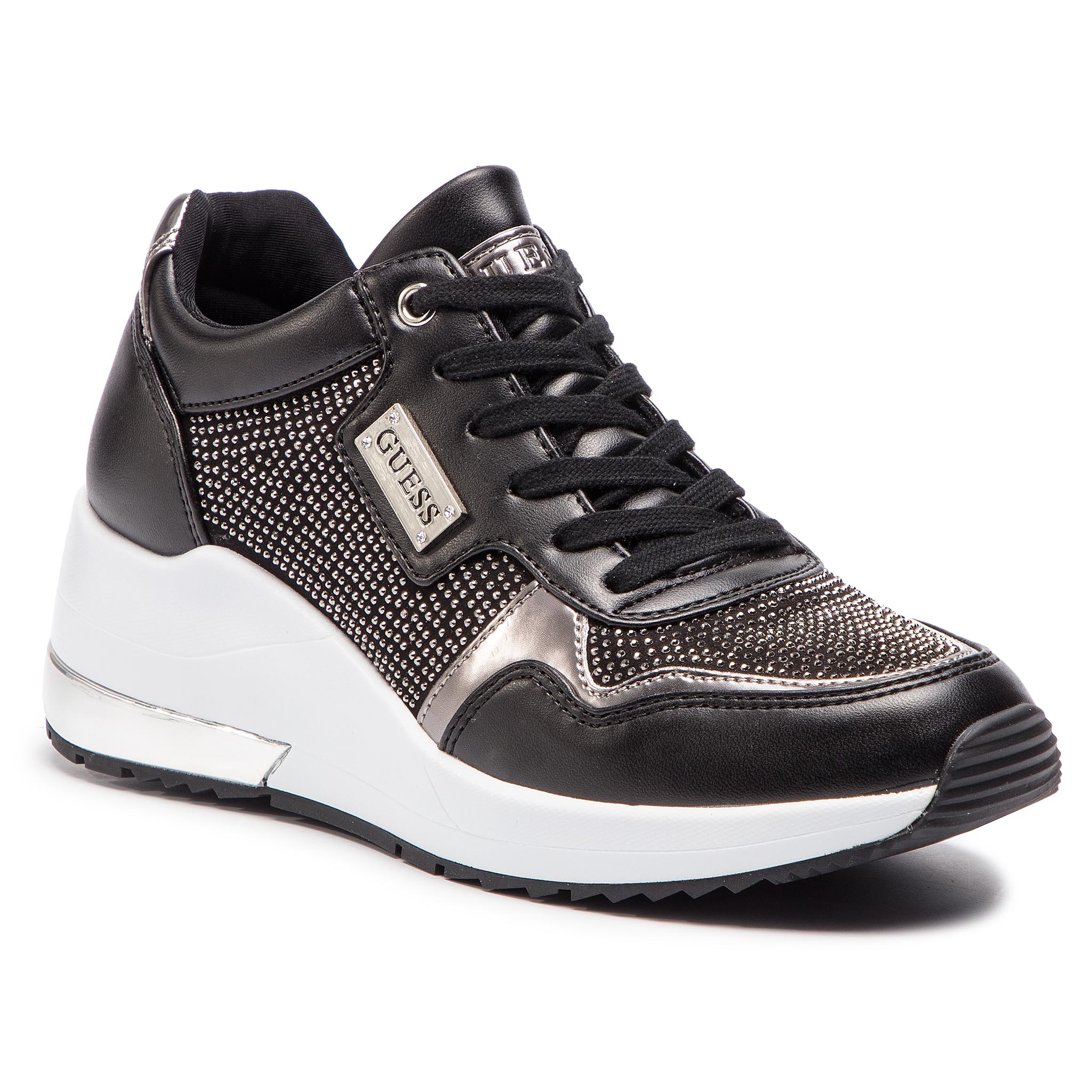 15be05acb1 Sneakersy GUESS - FL6JN2 ELE12 BLACK - Glami.sk