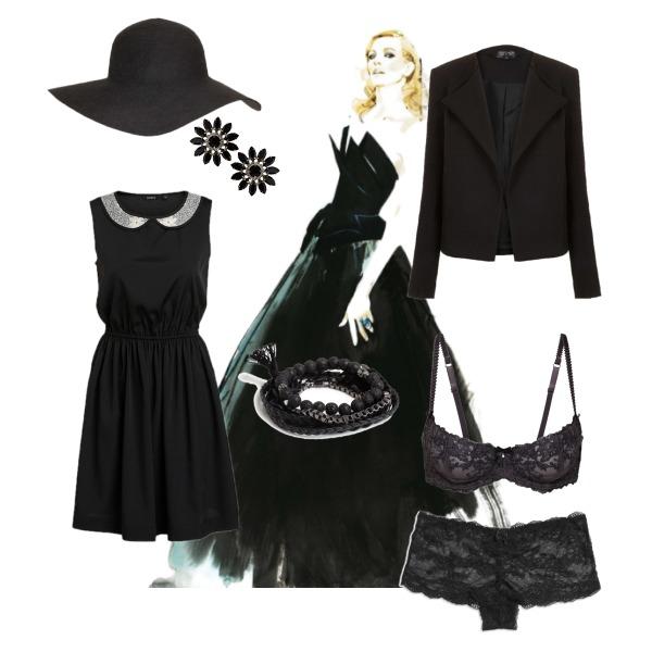 On wednesday we wear black