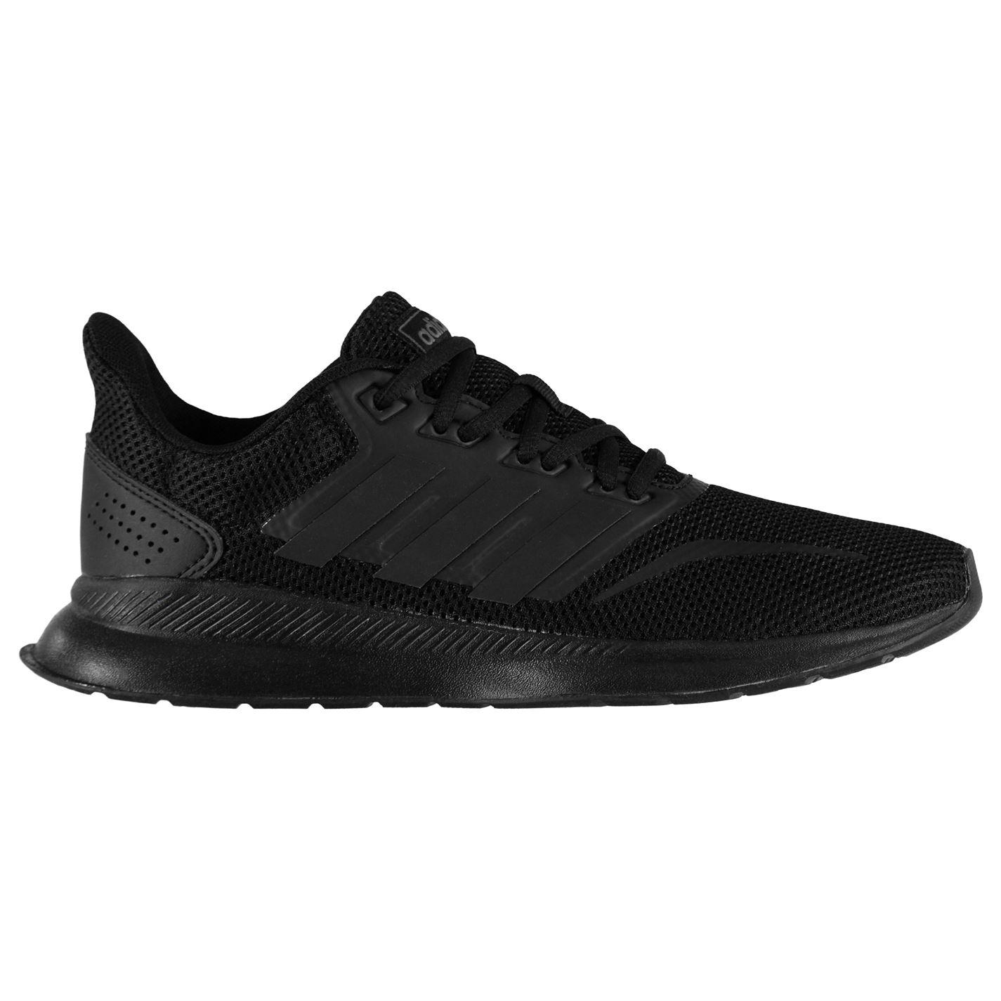 adidas Falcon Ladies Trainers TripleBlack - Glami.sk aafe0651a10