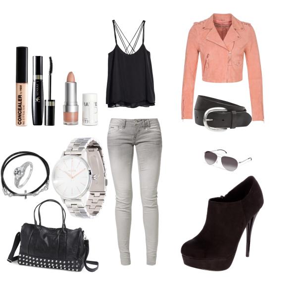 süßes outfit