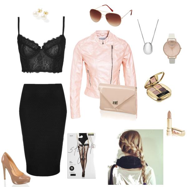 večerní outfit