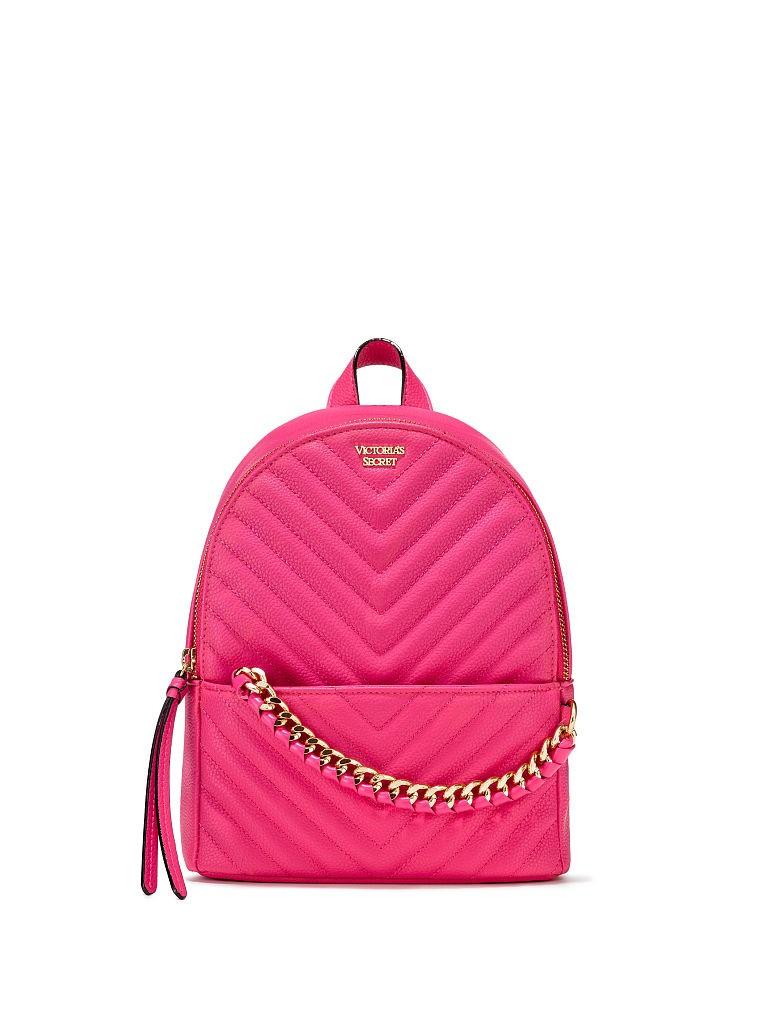 9ef40ab15d9 Victoria s Secret Batoh Victoria s Secret - Pebbled V-Quilt Small City  Backpack. 1