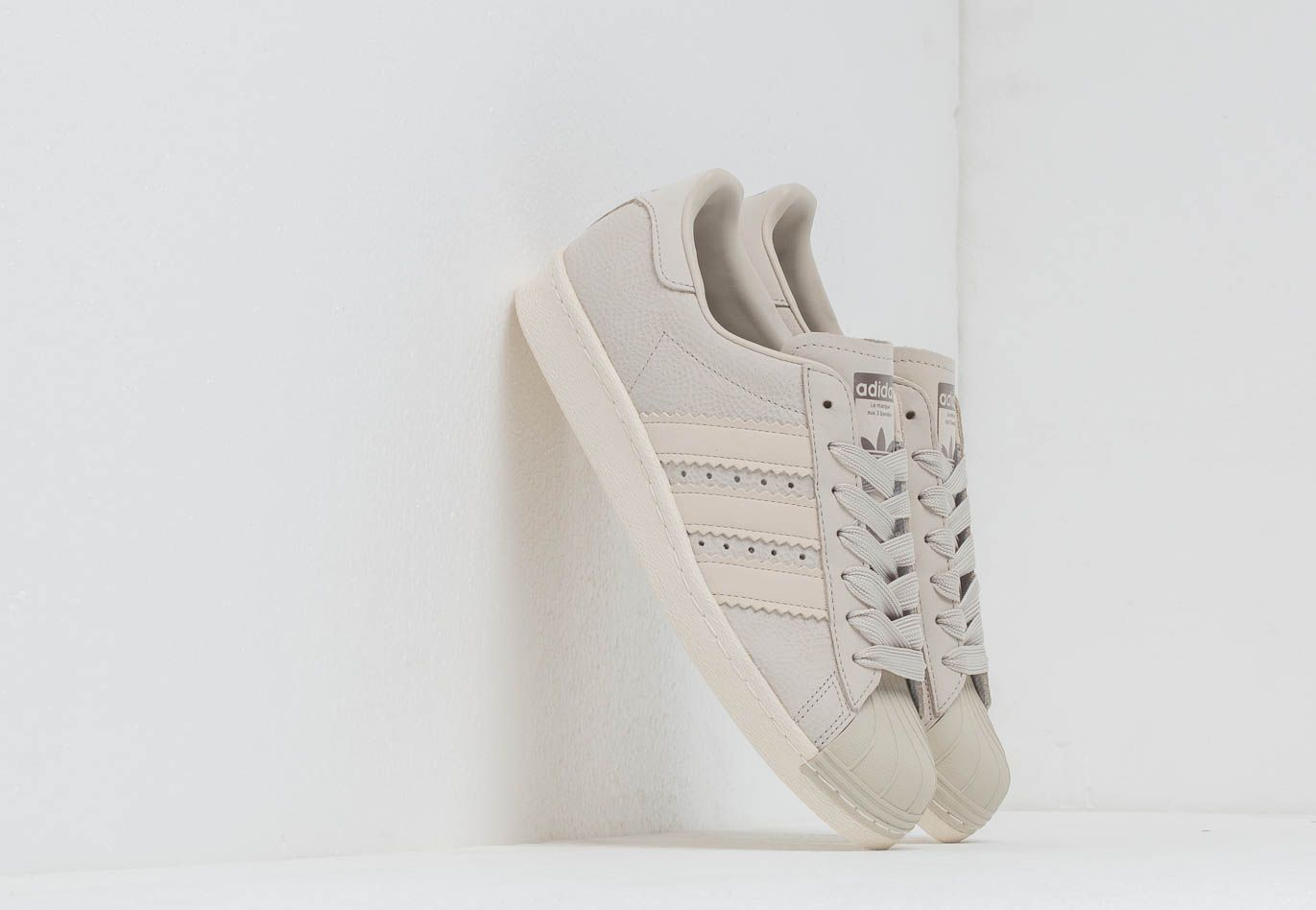 adidas Originals adidas Superstar 80S W Cream Brown  Cream Brown ... 99b2fcf8c6