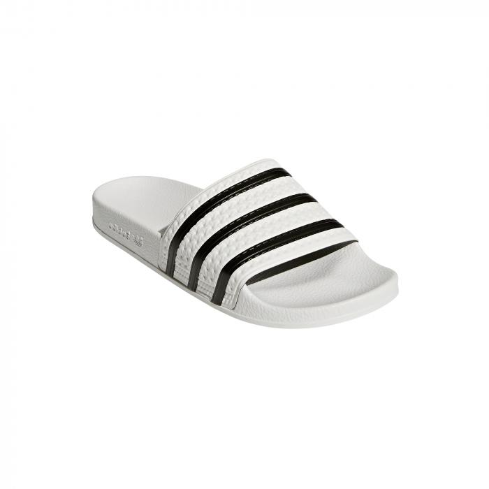 Pánske šľapky adidas Originals ADILETTE (Biela   Čierna) - Glami.sk b78cefe6194