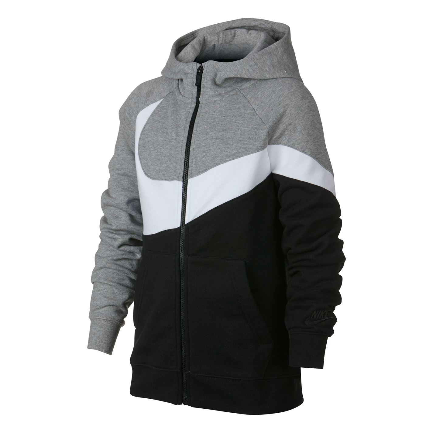 Mikina s kapucí Nike HBR Swoosh Hoody Junior Boys - Glami.cz bb12e1b687f